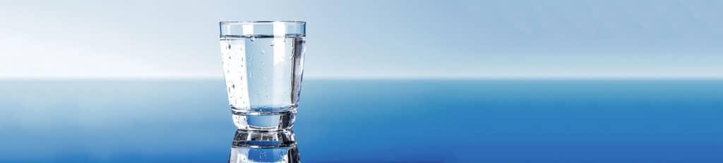 Boire une eau pure est bon pour notre santé