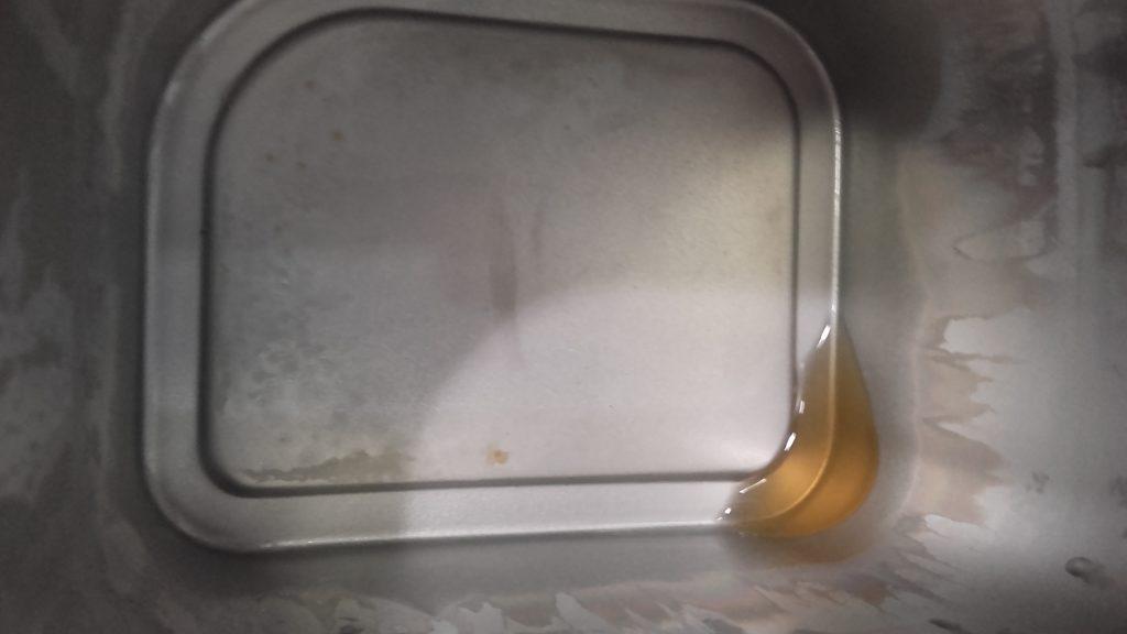 Quantité d'eau restant après distillation dans la cuve du distillateur d'eau Waterlovers