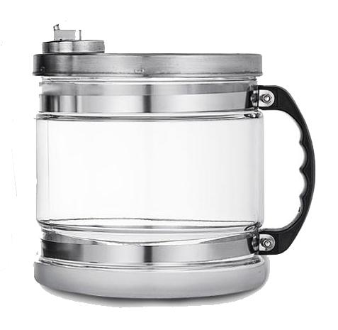 Carafe en verre pour le distillateur Eaukey. Capacité 4 litres