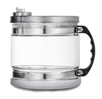 Carafe en verre du distillateur Eaukey d'une capacité de 4 litres